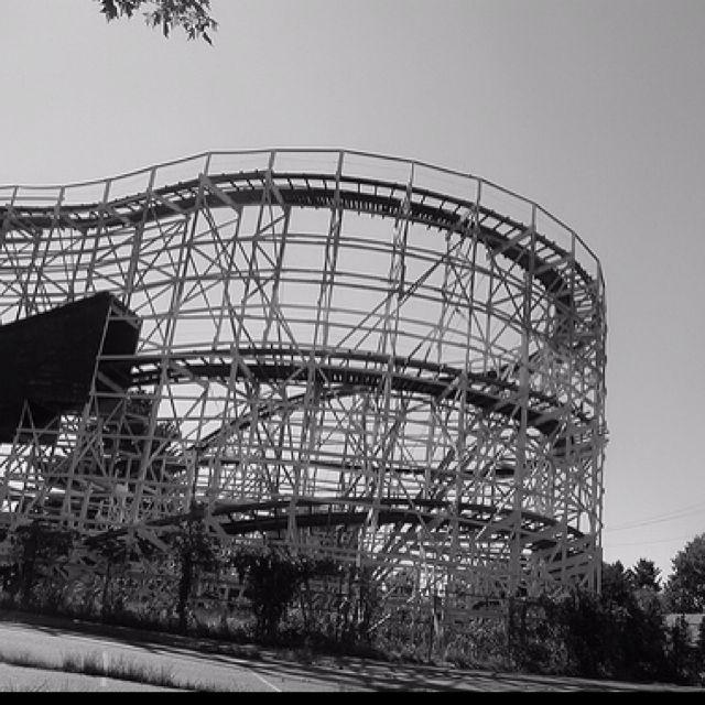Abandoned rollercoaster break Fitchburg