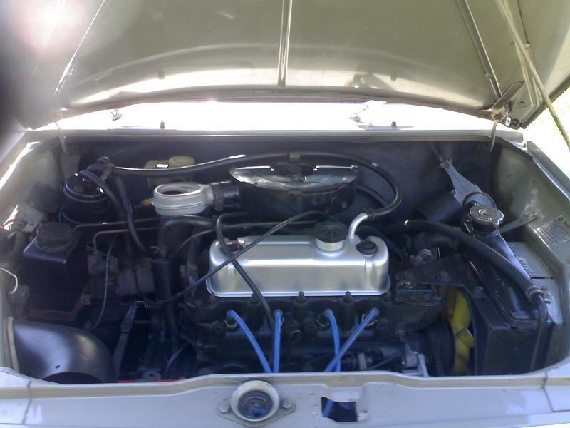 Leyland Mini Clubman 1275 LS Rare  Engine bay  Mini 1275 LS