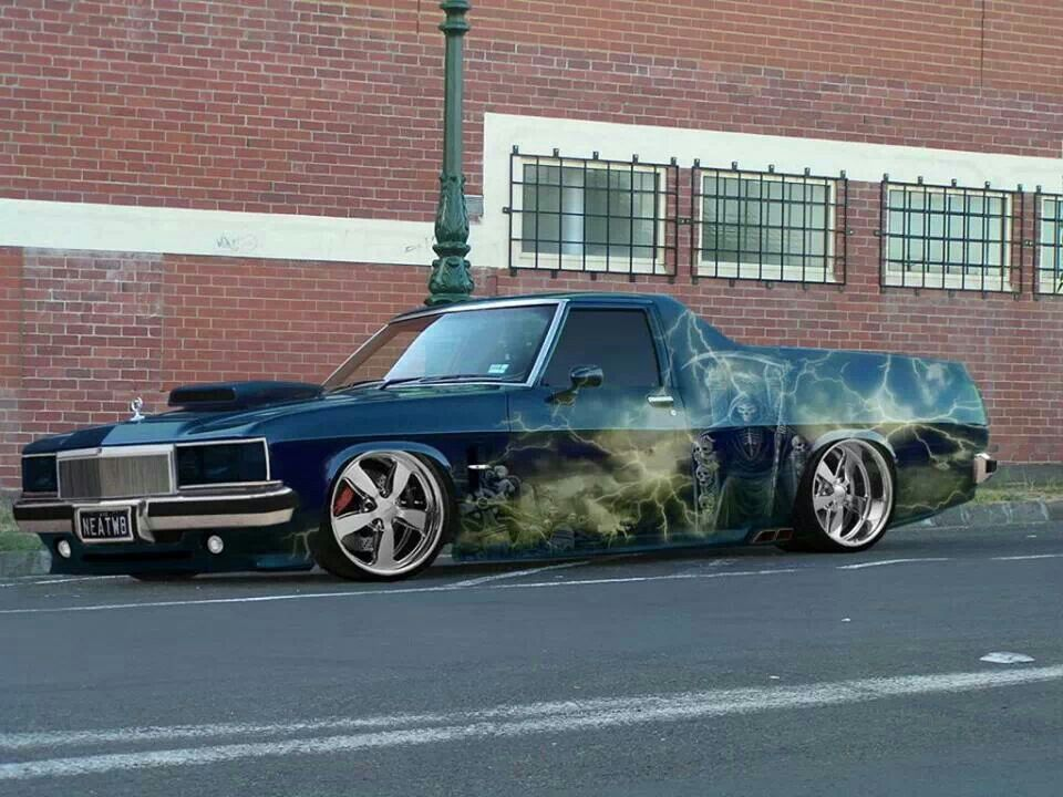 WB holden ute Holden muscle cars, Custom muscle cars