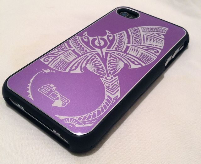 $30 Stingray Shell from 808shells.com in purple
