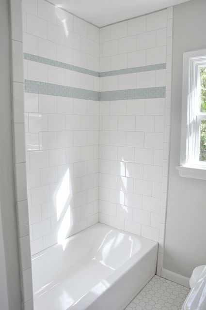 Large Tile In A Brick Pattern May Be Easier To Install With