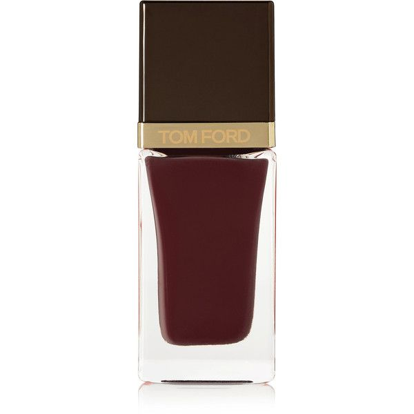 Tom Ford Beauty Nail Polish - Bitter (€32) ❤ liked on Polyvore featuring beauty products, nail care, nail polish, beleza, merlot, tom ford, shiny nail polish, tom ford nail polish and tom ford nail lacquer