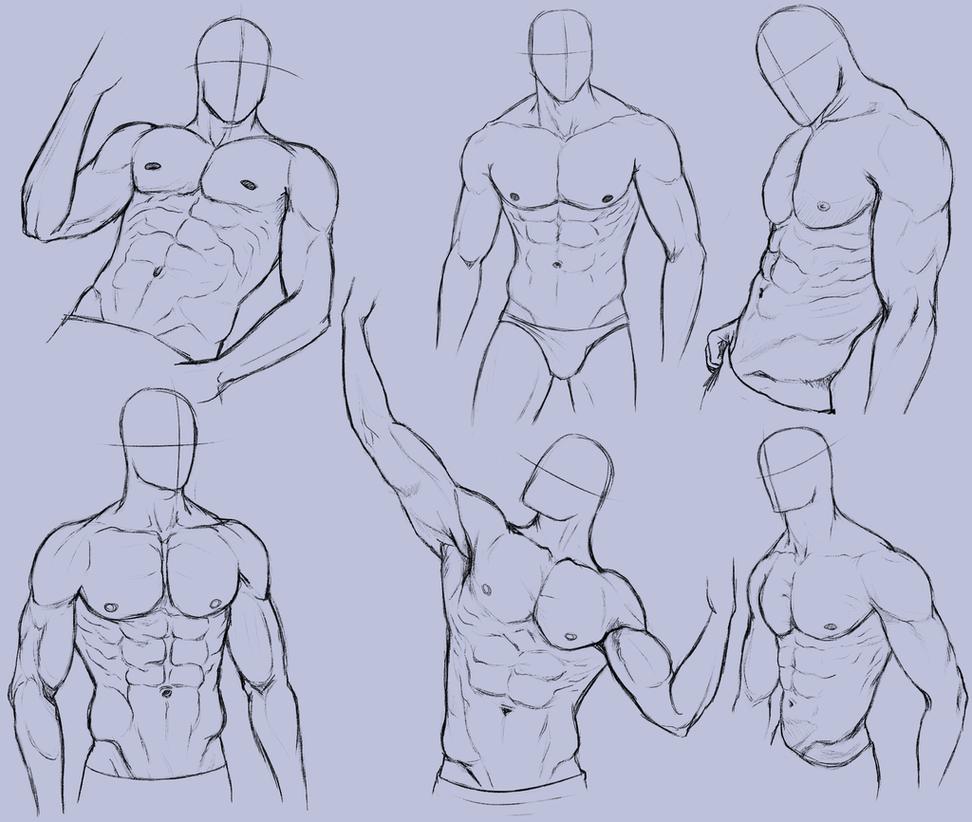 Hombre Anatomía Práctica 2 por KingMaria | Pose | Pinterest ...