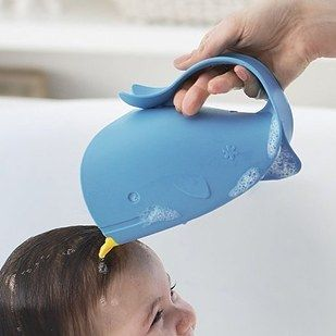 This welcoming whale bath rinser that is totally acceptable for adults to use while taking baths ($9.99). | Here's What's Trending On Amazon Right Now