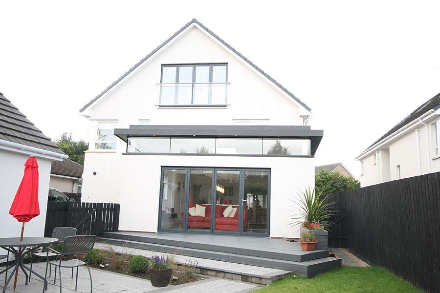 The Clients Purchased This House As A New Build But With A View To Altering  It