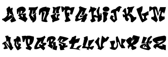 CRAZY FONTS | Crazy Calligraphy Font UPPERCASE | COOLFONTS | Crazy