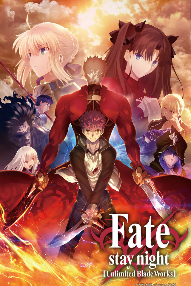 Fate/stay night Watch on Crunchyroll (With images