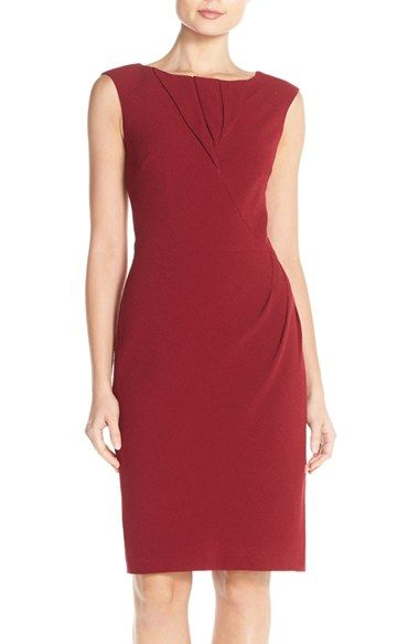67d44630 Adrianna Papell Origami Pleated Sheath Dress available at #Nordstrom ...