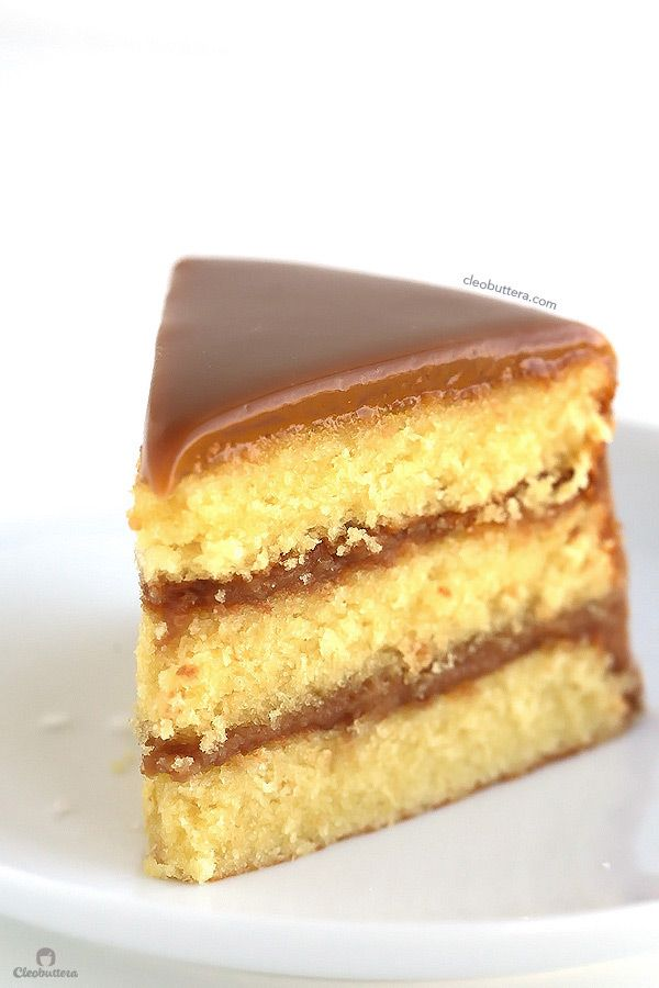 The Perfect Caramel Cake With Sea Salt Recipe Sweets Only