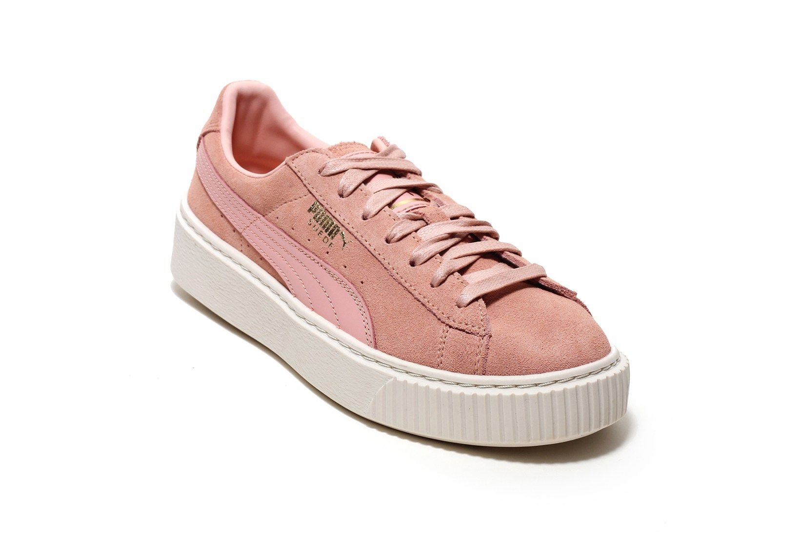 PUMA Made a Suede Platform Core Pastel Duo in Peachy Pink and Blue: There's  no stopping the PUMA Suede which now boasts more models than ever.