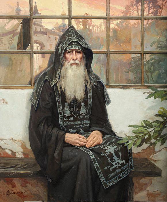 Иосиф.-Оптинский-старец-С.Афонина.jpg (580×700)