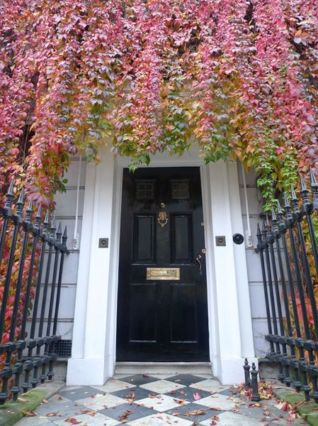 The Virginia Creeper Makes This Door Standout Wimpole