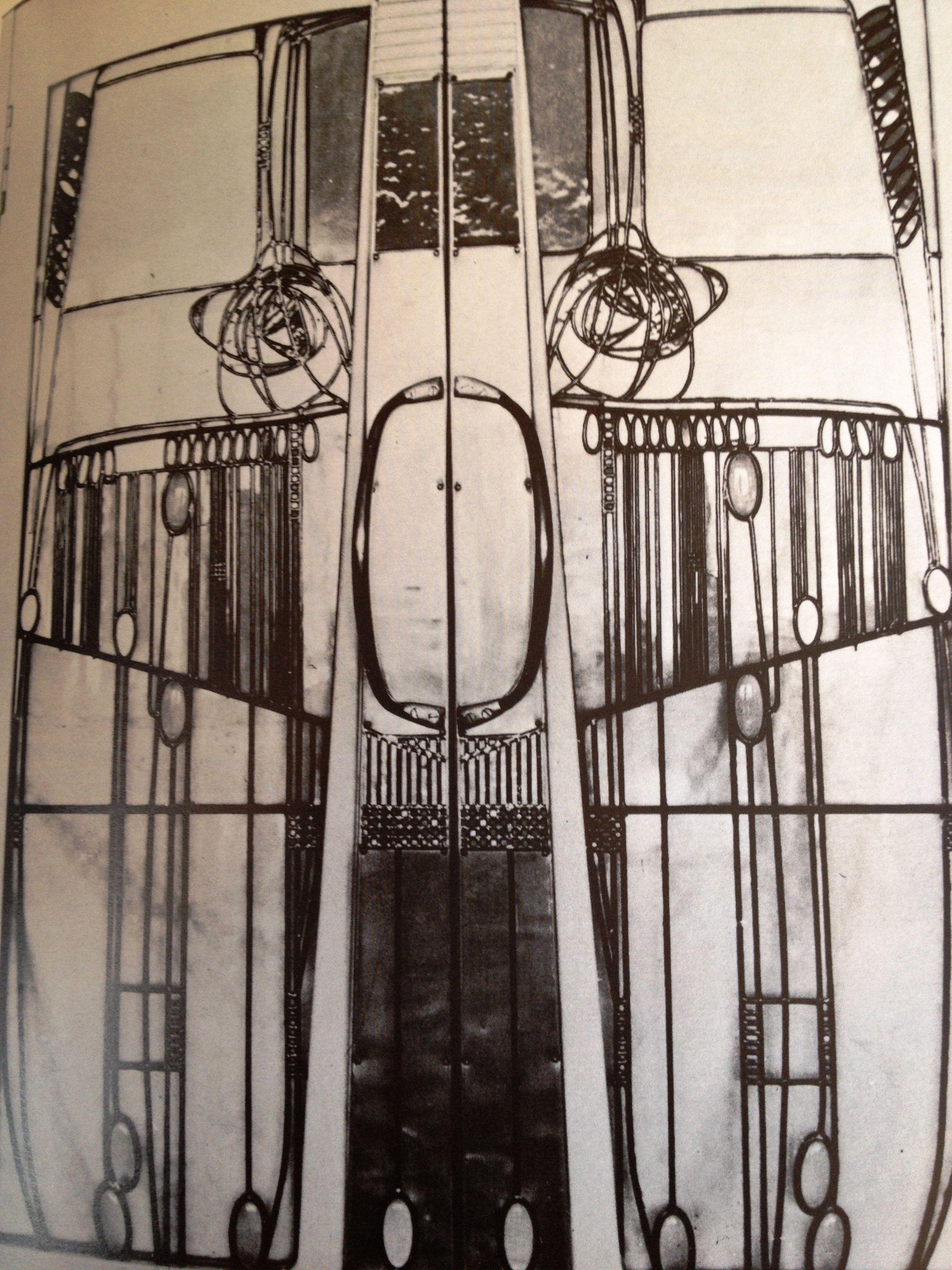 Charles rennie mackintosh the willow tea rooms door to uroom de