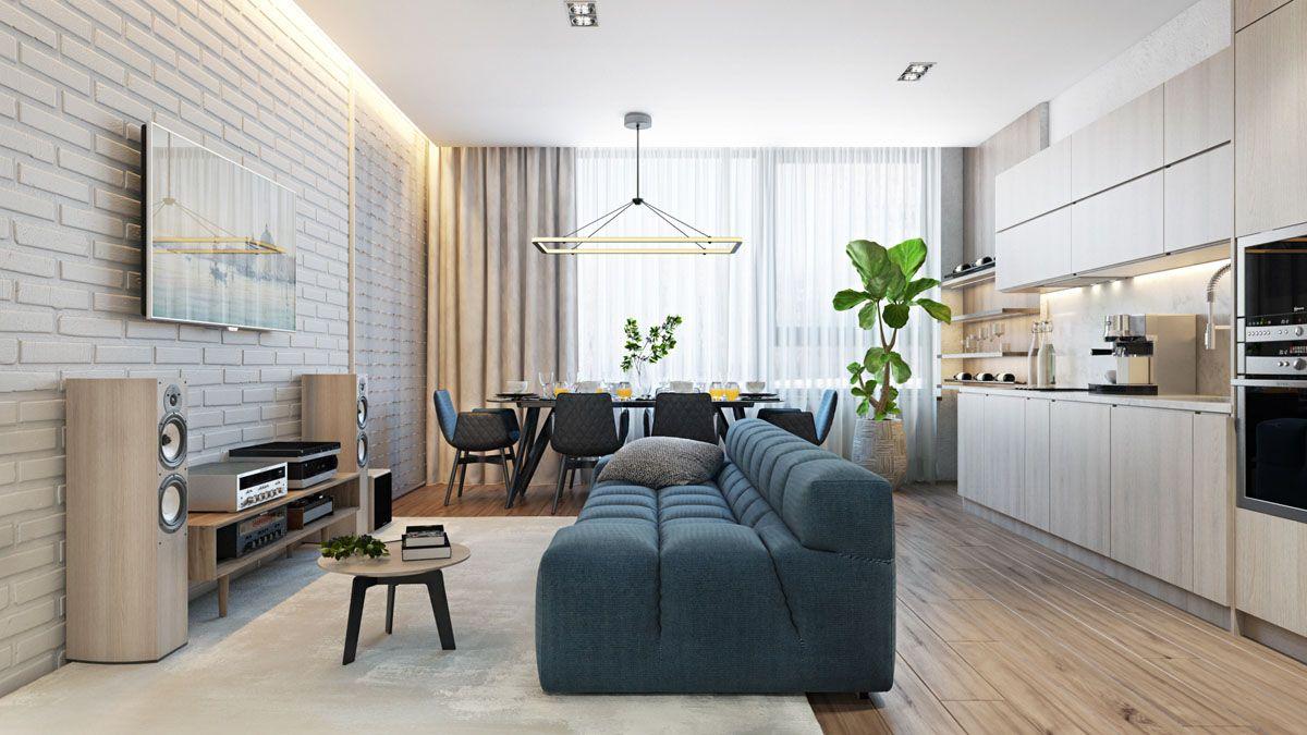 2 bedroom interior design  single bedroom homes with warming wood tones  decor  pinterest