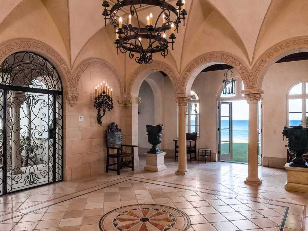 spanish style mansion interior Google Search Mansions