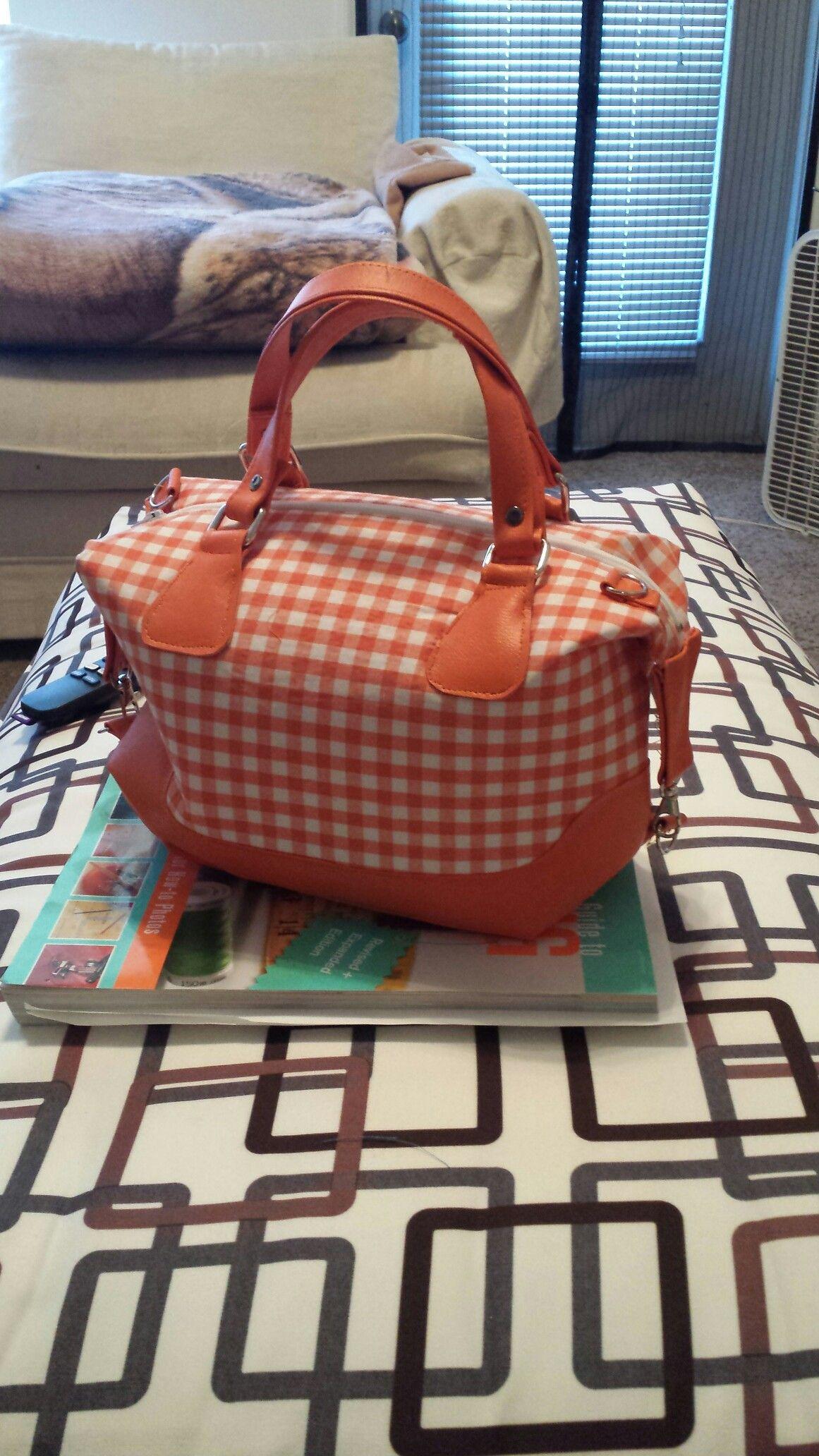 I made me a Brooklyn purse