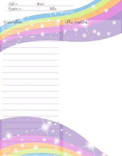 free printable stationery free christmas stationery for sponsored kids - Free Printables Kids