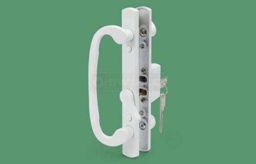 Legacy Keyed Handle Set 3 15 16 1 3 8 Door With Images Door Handle Sets Sliding Glass Door Glass Door