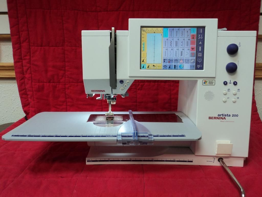 Bernina Artista 200 Sewing * Quilting ** EMBROIDERY ** Made
