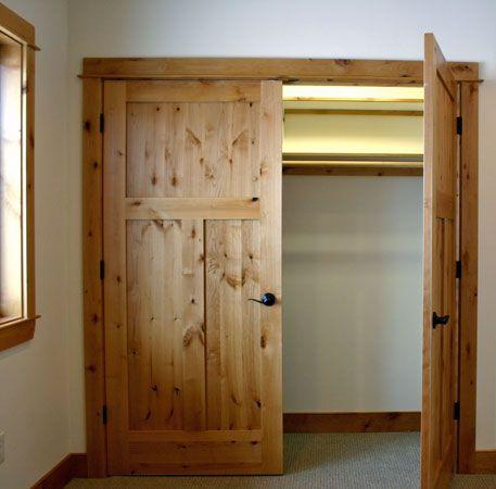 Closet Doors Our Stain Trim And Doors Pinterest Closet Doors