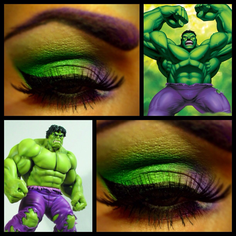 Incredible Hulk Eye Makeup Incredible Hulk Birthday Party Hulk Halloween Costume Hulk Birthday