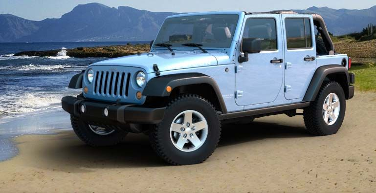 Jeep Wrangler - I know they're not very good cars, but I've wanted