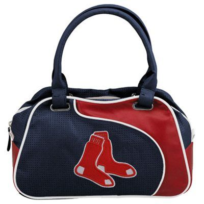 Boston Red Sox Ladies PERF-ect Bowler Purse - Navy Blue