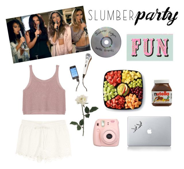 """""""Don't Sleep Just Have Fun!"""" by rockiesleppie ❤ liked on Polyvore featuring Kate Spade and Vinyl Revolution"""
