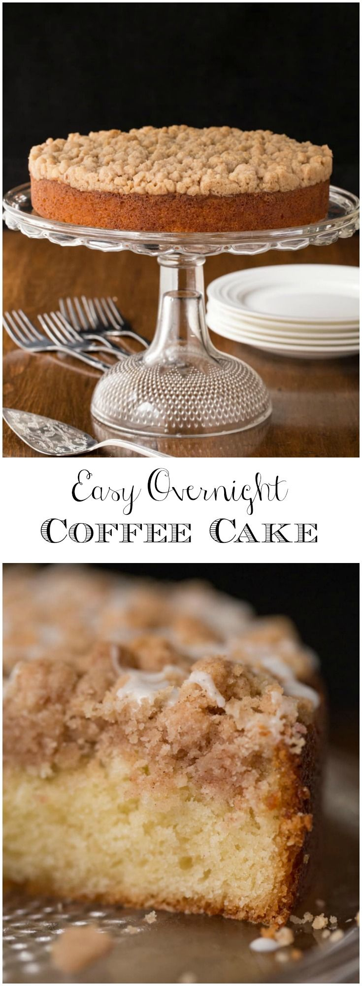 Easy Overnight Coffee Cake Recipe Coffee Cake Easy Coffee Cake Recipes Baking