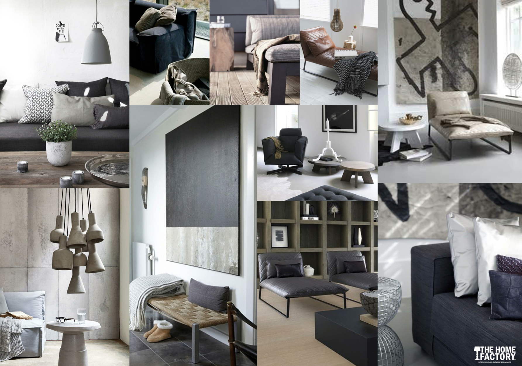 Interieur Modern Industrieel Modern Interieur Interieur Collages Interieur Modern