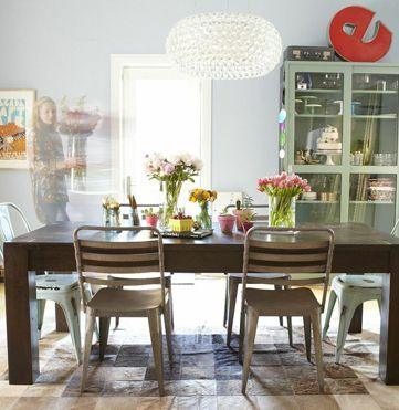 Eva Daiberl's Chicago Townhouse Tour  Townhouse Chicago And Spaces Mesmerizing Funky Dining Room Design Inspiration