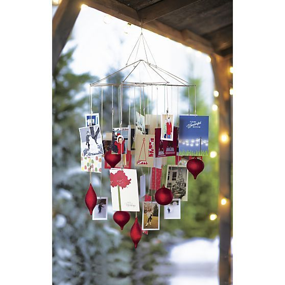 ornament photo chandelier in christmas decorating crate and barrel christmas christmas. Black Bedroom Furniture Sets. Home Design Ideas