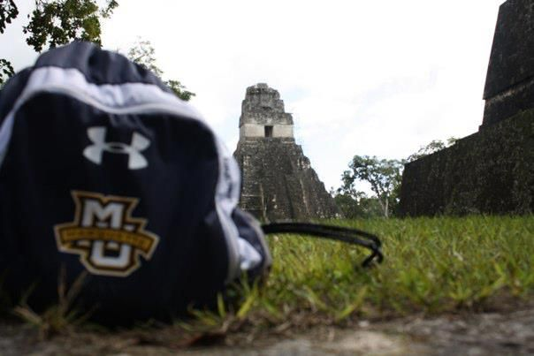 Mayan ruins in Tikal National Park, Tikal, Guatemala. Submitted by Victor Jacobo. Photo by Erin Caughey.