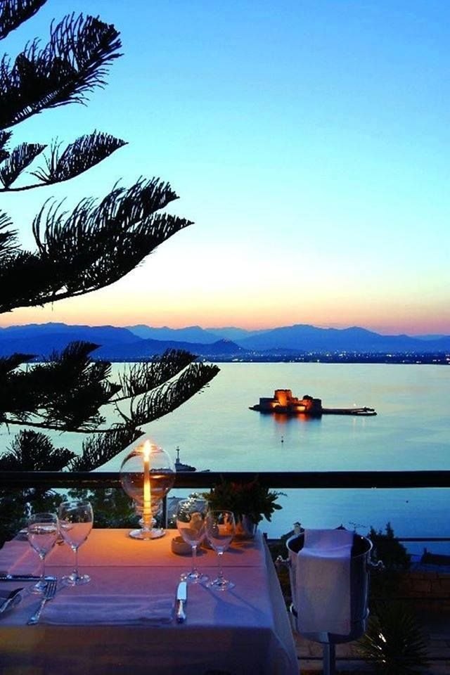Perfect dining spot in Nafplio Greece