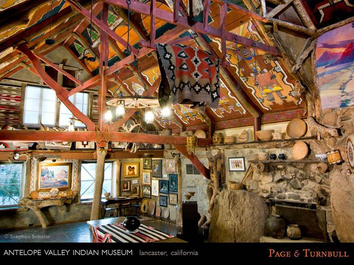 Jay Turnbull Faia Page Turnbull San Francisco Ca Antelope Valley Indian Museum Lancaster California Photo Courtesy Indian Museum Museum House Styles