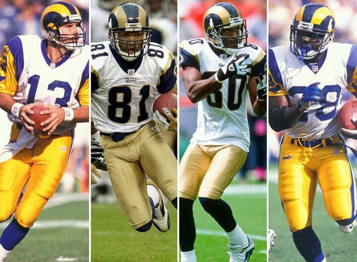 Tgsot The Greatest Show On Turf From 1999 Magical Year St Louis Rams Nfl Football Players St Louis Rams Nfl Football Live