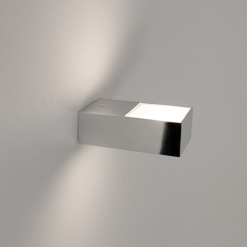 Astro Lighting Kappa Single Light Bathroom Wall Fitting In Polished Chrome  Finish