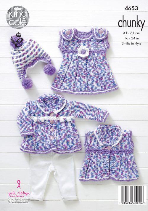 Baby Set - King Cole   Pletieme pre deti - knitting   Pinterest ...