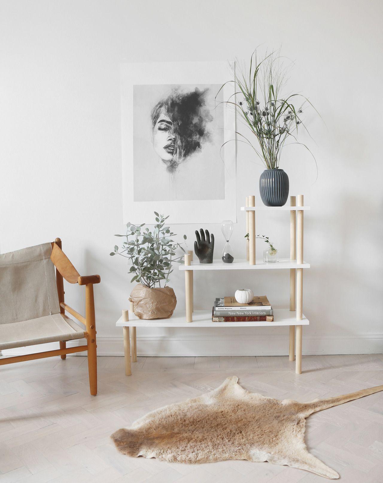 nordic style furniture. 3 Fina DIY-projekt Av Trä \u2022 Husligheter. Bookshelf DiyScandinavian InteriorScandinavian StyleInterior Nordic Style Furniture