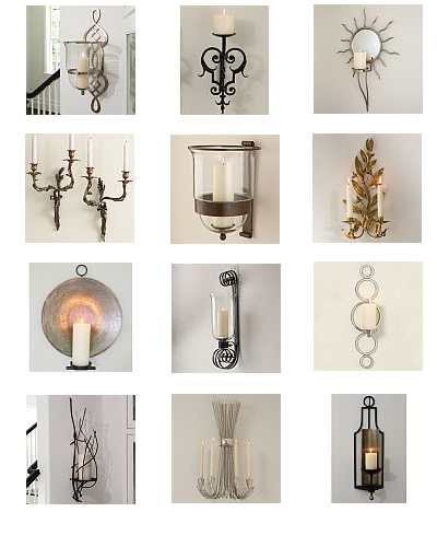 The Designer Insider: Candle Wall Sconces! | candle sconces ...
