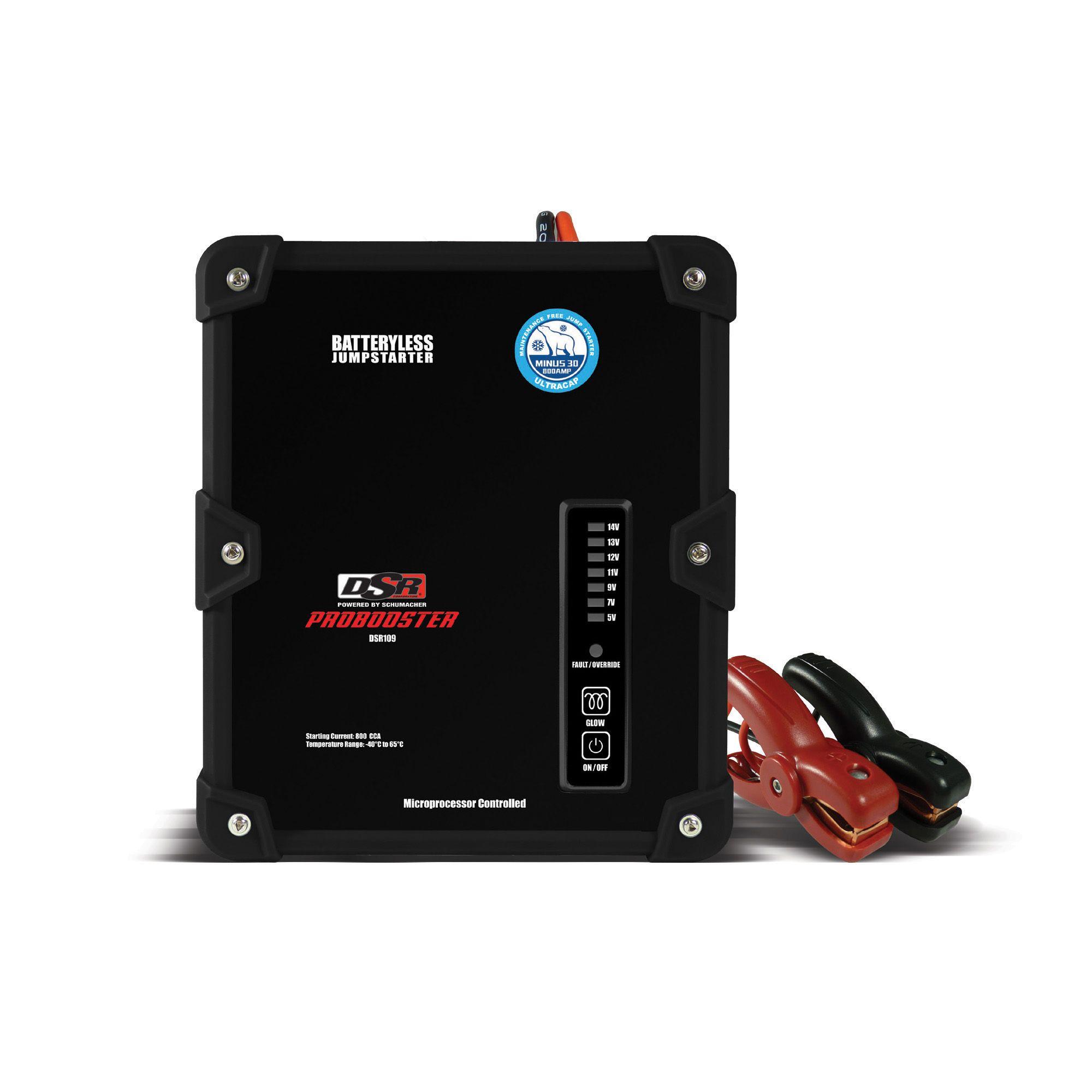 Schumacher 12V 800A Batteryless Jumpstarter PART NO
