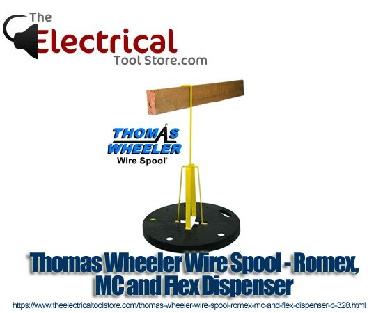 Thomas Wheeler Wire Spool - Romex, MC and Flex Dispenser - $59.95 ...
