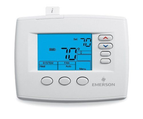 white rodgers f universal non programmable thermostat we offer programmable thermostats from honeywell and comfort sentry options include touchscreen remote programming and humidity control
