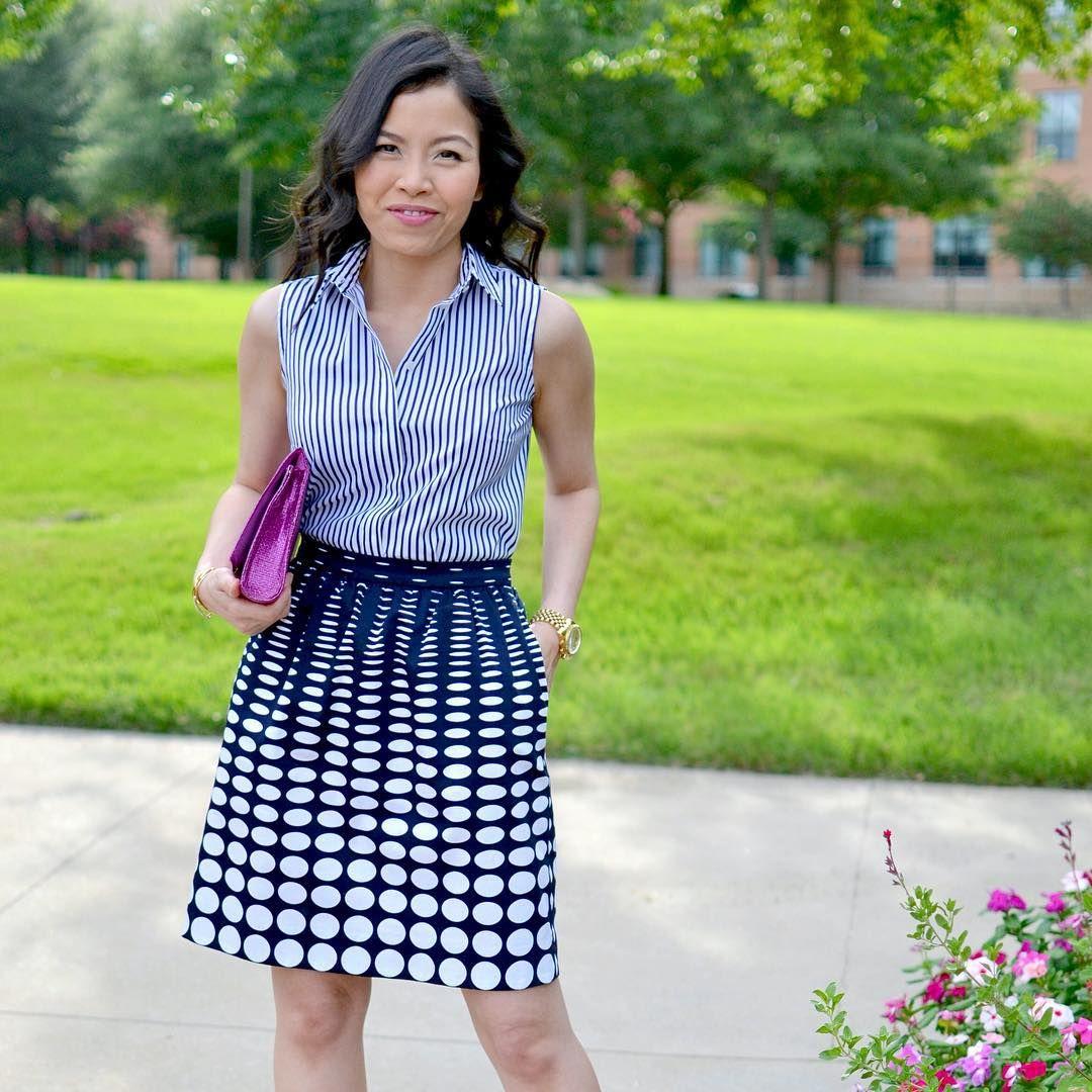"Gefällt 126 Mal, 12 Kommentare - Jinna R. (@style_and_cappuccino) auf Instagram: ""It's a beautiful day in my neighborhood! 💙😄 #fashion #fashionblog #fashionblogger…"""