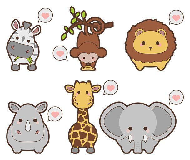 Free safari animal icons - Web Design Resources   Design Freebies ...