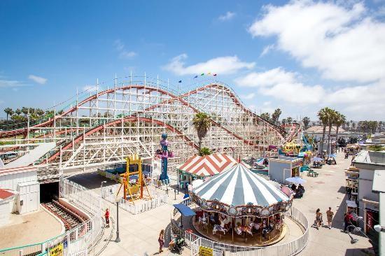Belmont Park Amusements Mission Beach San Diego