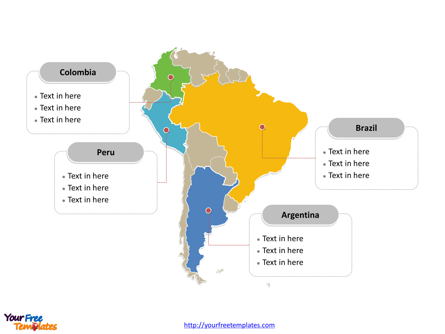 south america ppt