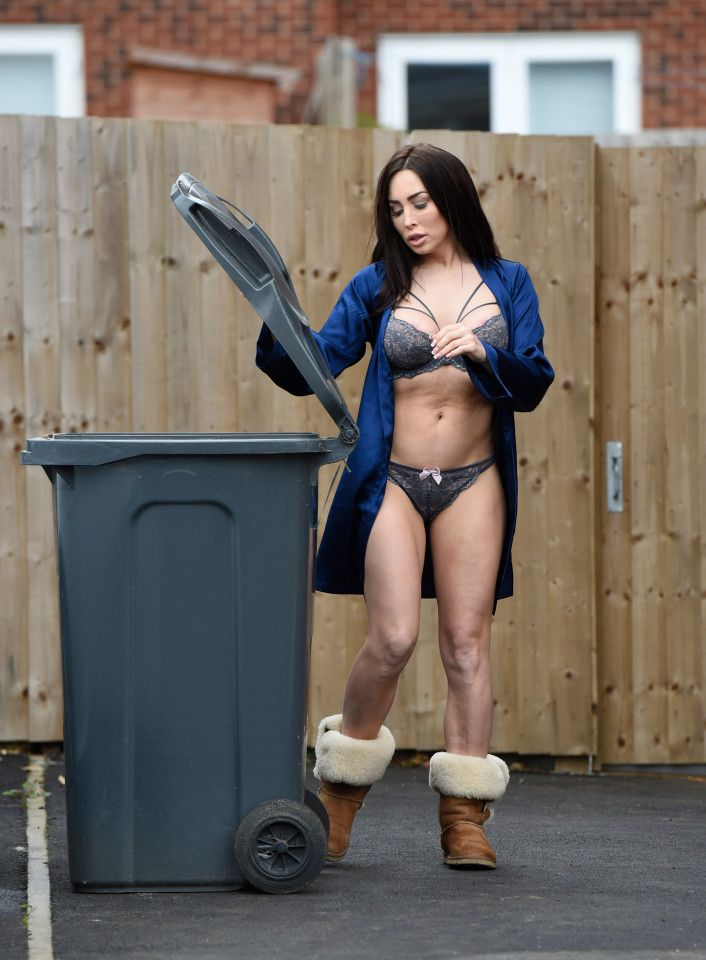 The best place to spot 'celebs'? Taking the bins out in ...
