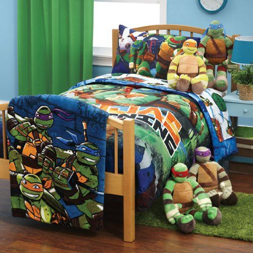 Teenage Mutant Ninja Turtles Glow Blanket If You Kids Love Tmnt Then They Will Love This Blan Ninja Turtle Bedroom Turtle Bedroom Ninja Turtles Bedroom Decor