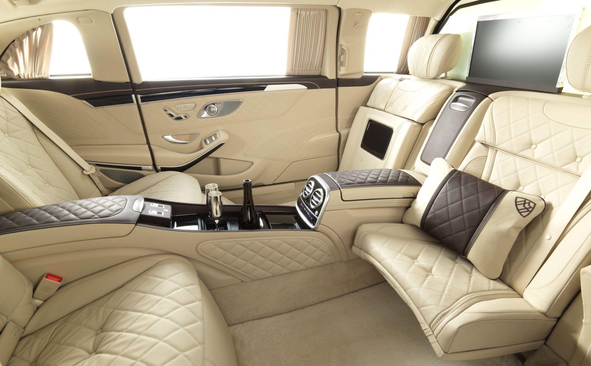 Mercedes-Benz S600 Pullman Maybach (2016)